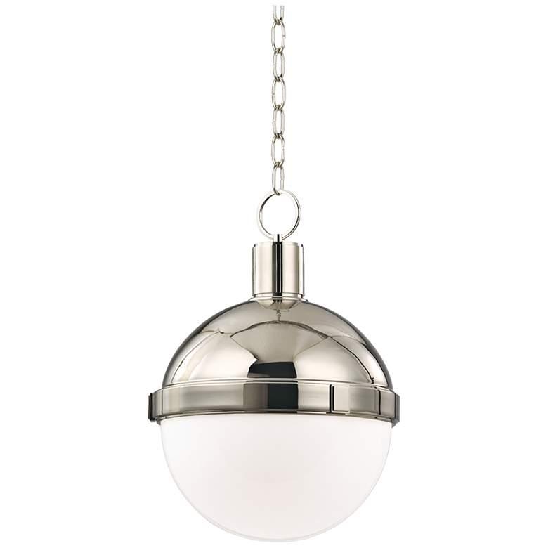 "Hudson Valley Lambert 9 1/2""W Polished Nickel Mini Pendant"