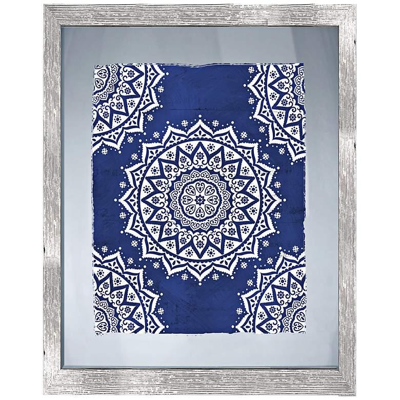 """Boho Pattern II 26"""" High Framed Giclee Wall Art"""
