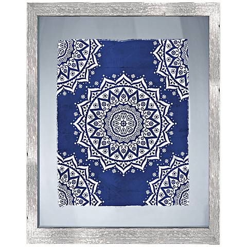 "Boho Pattern II 26"" High Framed Giclee Wall Art"