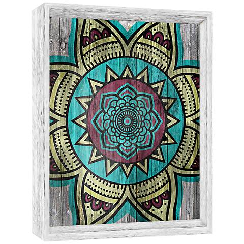 "Bohemian I 21"" High Framed Giclee Wall Art"