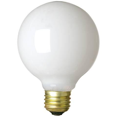 Westinghouse White Vibration Resistant 25 Watt G25 Bulb