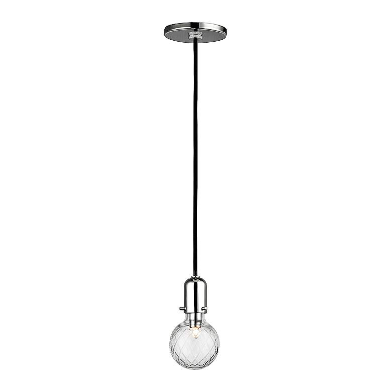 "Hudson Valley Marlow 3 1/2""W Polished Nickel Mini Pendant"