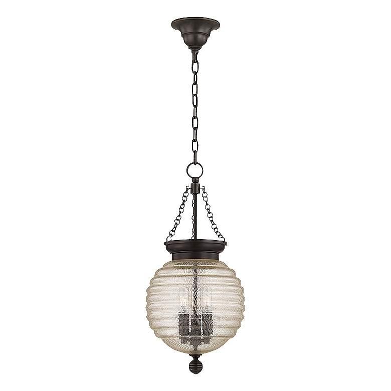 "Hudson Valley Coolidge 10""W 3-Light Old Bronze Pendant"