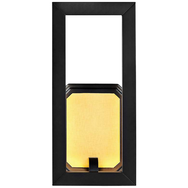 """Feiss Khloe 12"""" High Oil Rubbed Bronze LED Wall Sconce"""