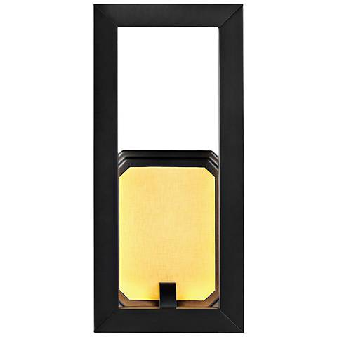 "Feiss Khloe 12"" High Oil Rubbed Bronze LED Wall Sconce"