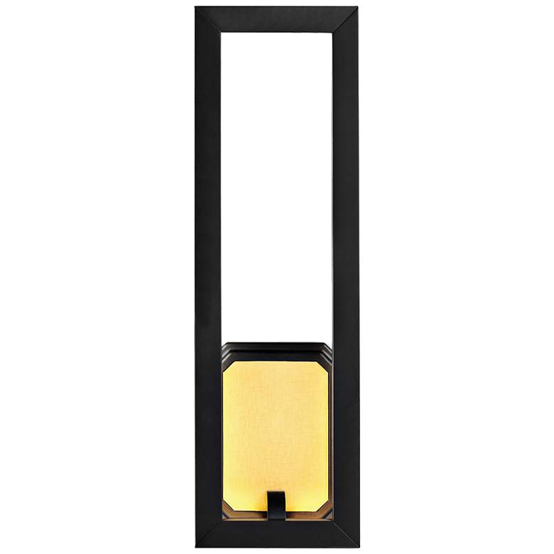 """Feiss Khloe 18"""" High Oil Rubbed Bronze LED Wall Sconce"""