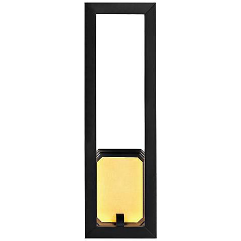 "Feiss Khloe 18"" High Oil Rubbed Bronze LED Wall Sconce"