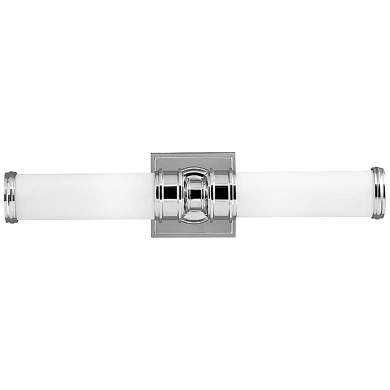 "Feiss Payne 19 1/4"" Wide Polished Nickel Bath Light"