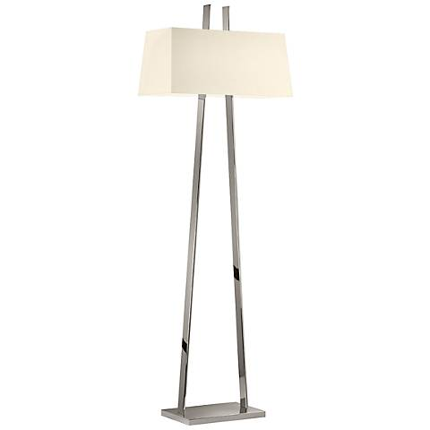 Sonneman A Polished Nickel Modern Floor Lamp