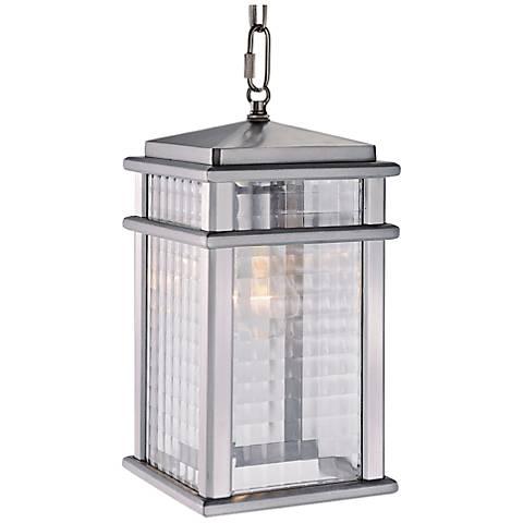 "Mission Lodge 13 1/2"" High Outdoor LED Hanging Light"