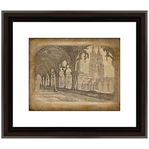 "Francia Pintoresca V 16"" Wide Framed Wall Art"
