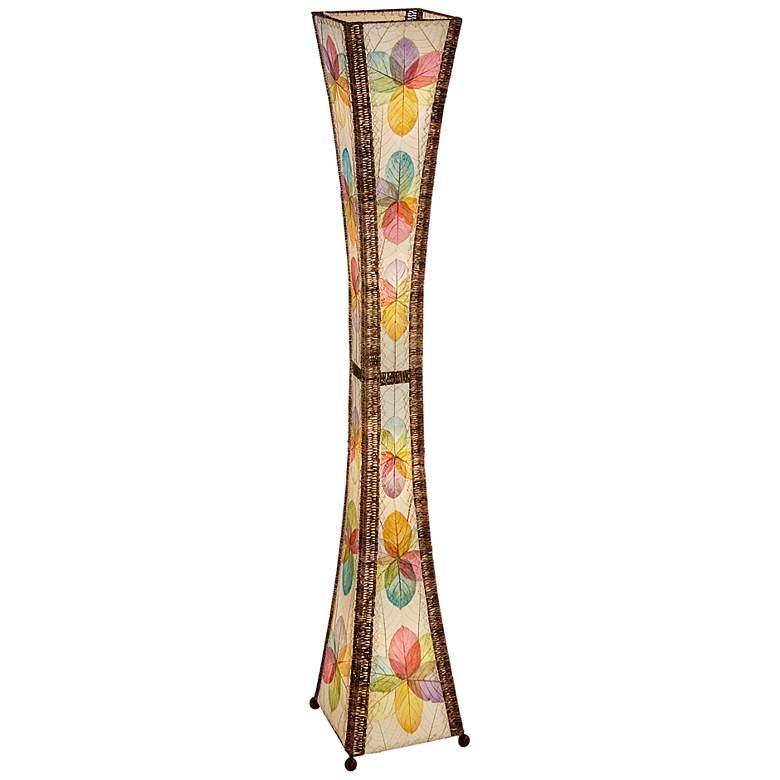 Eangee Hour Glass Multi-Color Giant Tower Floor Lamp