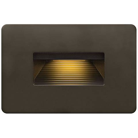 Hinkley Luna Low Voltage Bronze Step Light