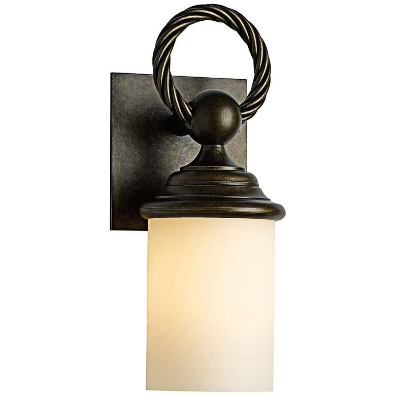 """Cavo 12 1/2"""" High Bronze Outdoor Wall Light"""