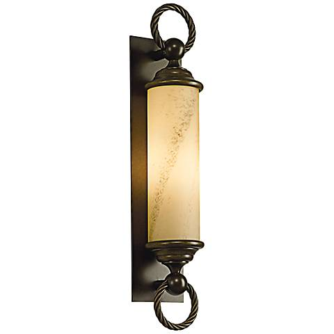 """Cavo 25 3/4"""" High Bronze Outdoor Wall Light"""