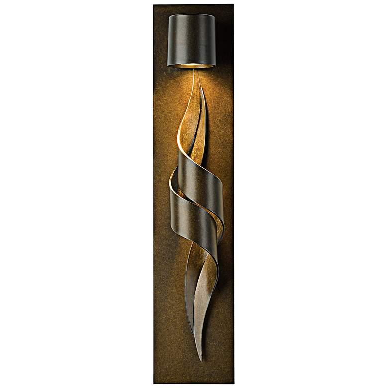 """Flux 23 1/2"""" High Bronze Outdoor Wall Light"""
