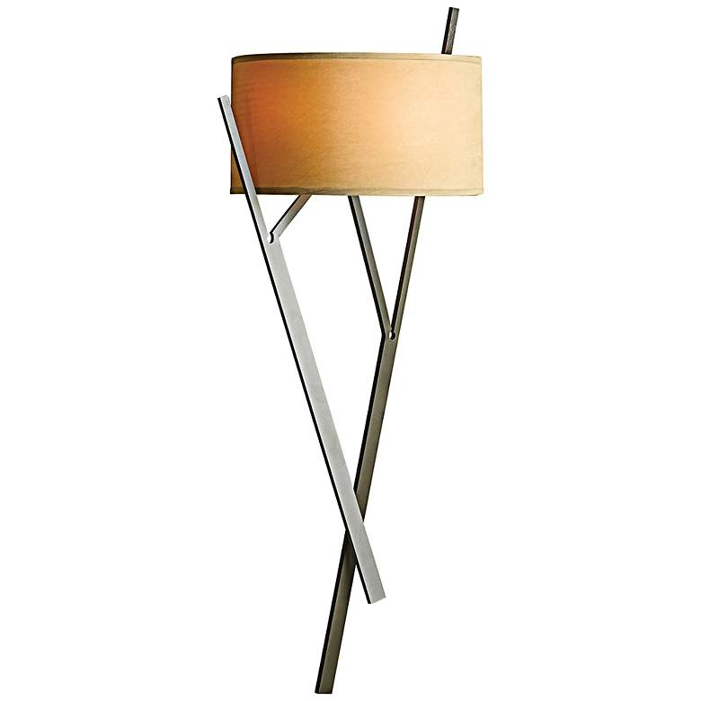 "Hubbardton Forge Arbo 27 1/4"" High Dark Smoke Wall Sconce"