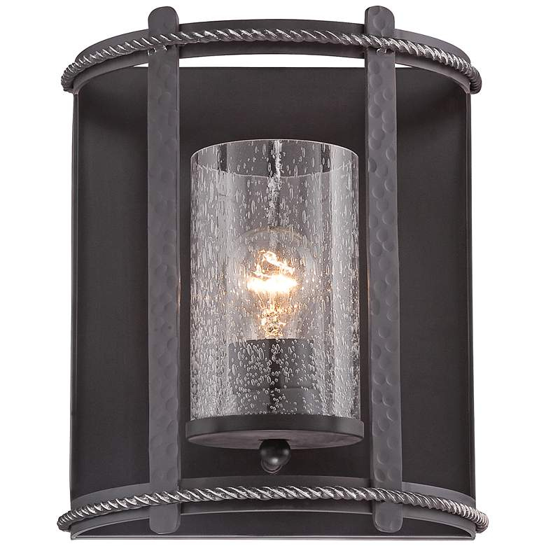 "Palencia 9 1/2"" High Artisan Pardo Wash Wall Sconce"