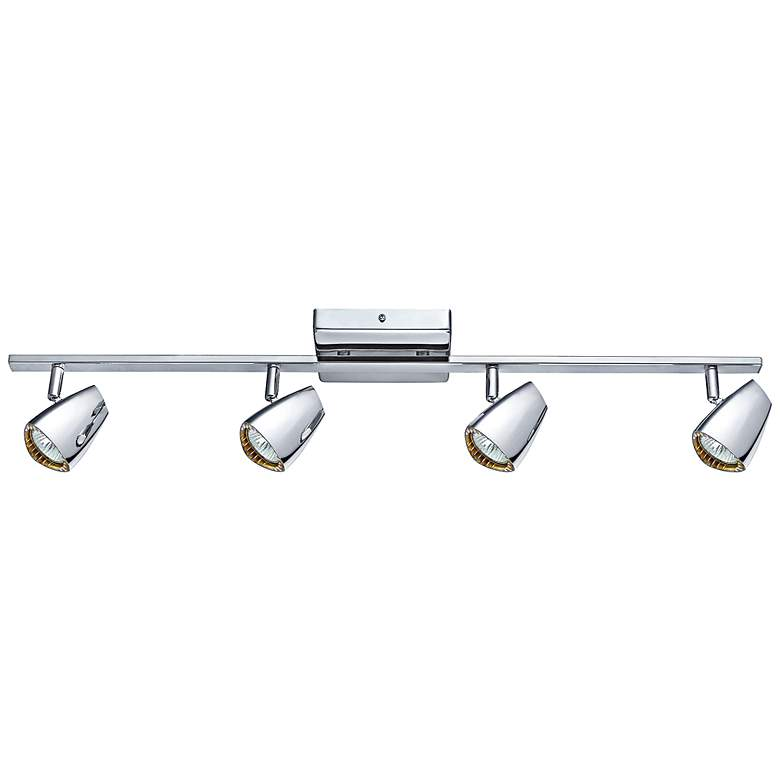 Eglo Corbera Industrial 4-Light Polished Chrome Track Kit