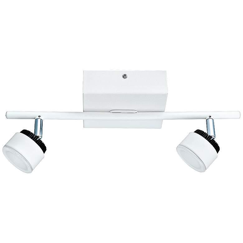 Eglo Armento 2-Light LED White Ceiling Track Light