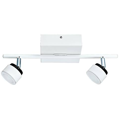 Eglo Armento 2-Light LED White Ceiling Track Light