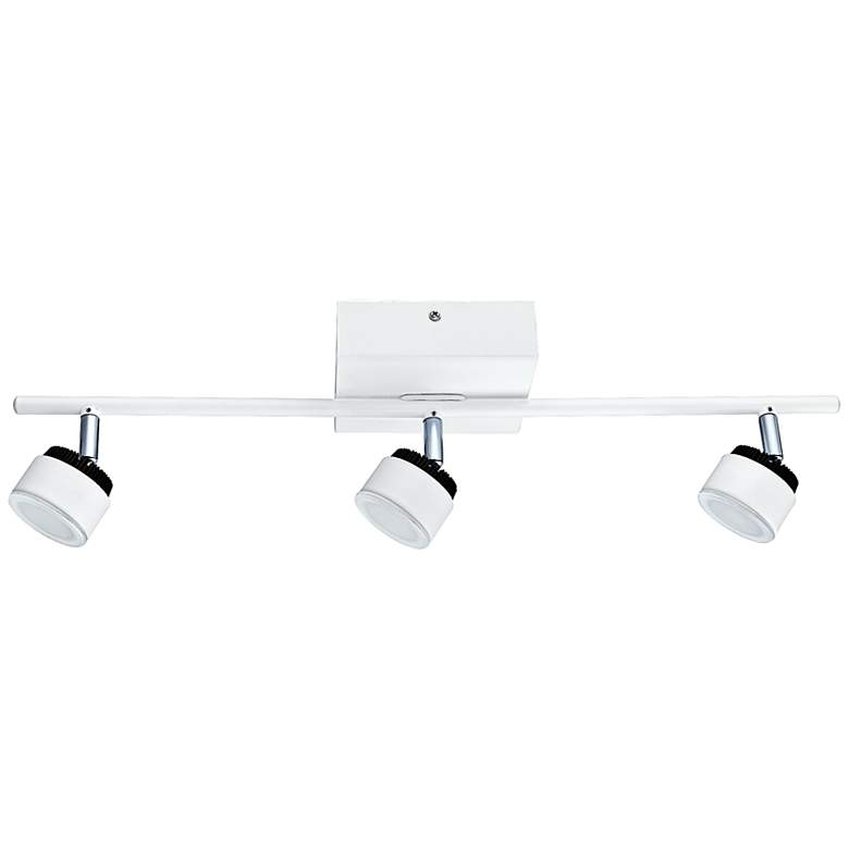 Eglo Armento 3-Light LED White Ceiling Track Light