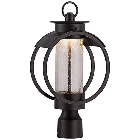 "Arbor 17"" High Burnished Bronze LED Outdoor Post Light"