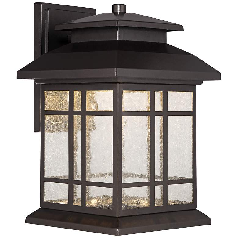 "Piedmont 12 3/4""H Oil Rubbed Bronze LED Outdoor"