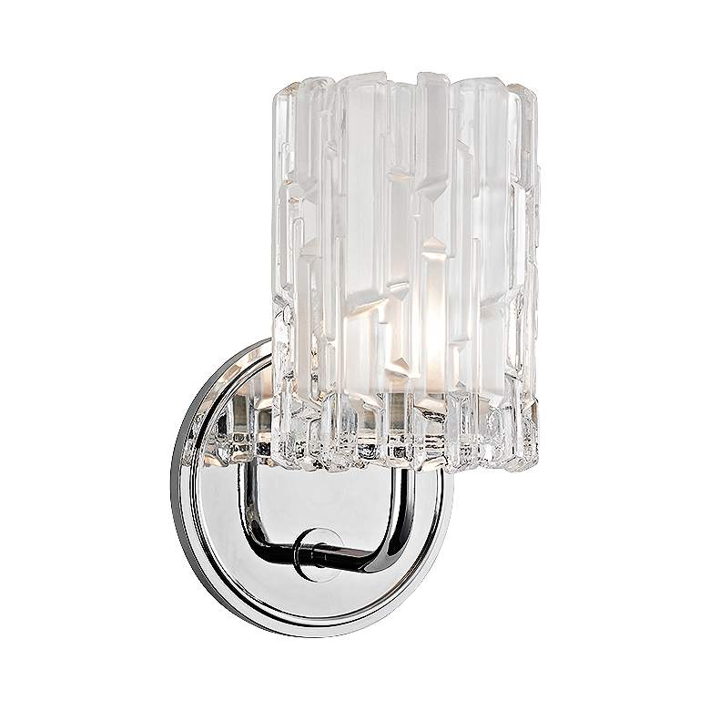 """Hudson Valley Dexter 8 1/2""""H Polished Chrome Wall Sconce"""