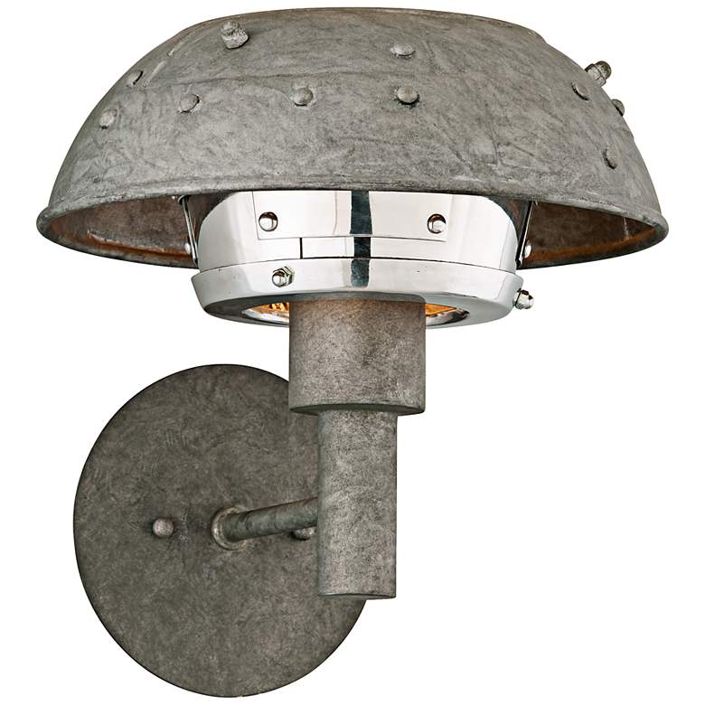 "Idlewild 11"" High Aviation Salvage Metal LED Wall Sconce"
