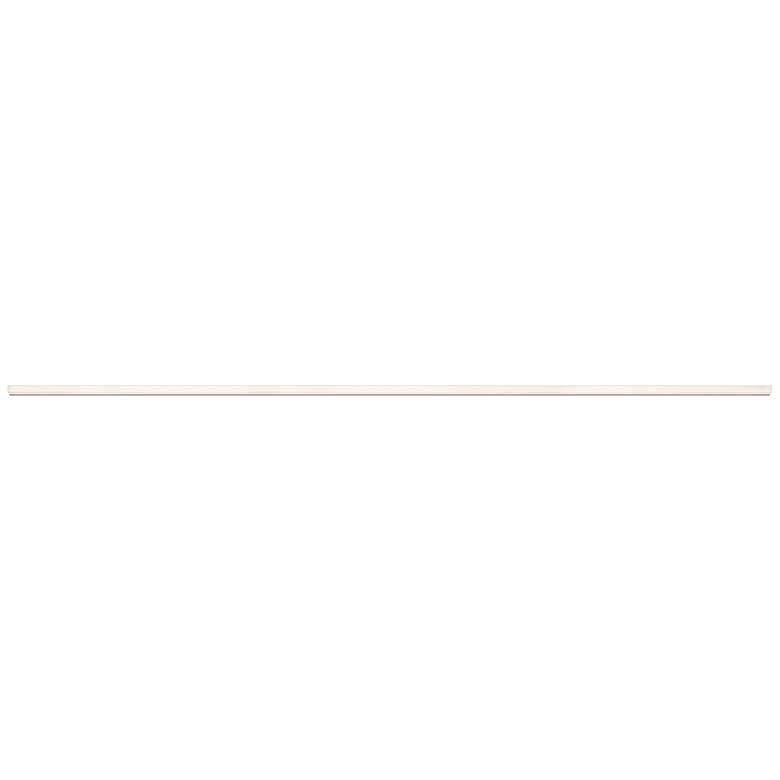 """Sonneman Stiletto Lungo 72"""" Wide Aluminum LED Bath Light"""