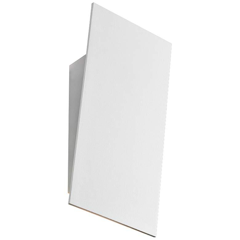 """Sonneman Angled Plane 7 3/4"""" High White LED Wall Sconce"""