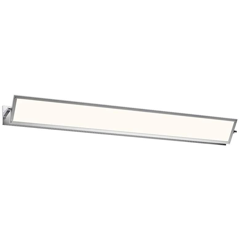 "Sonneman Aileron 36"" Wide Satin Aluminum LED Bath Light"