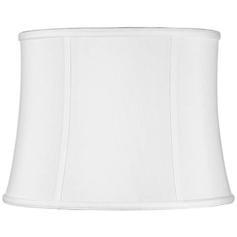 Imperial Collection White Drum Lamp Shade 14x16x12 (Spider)