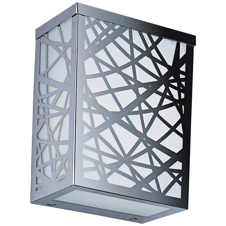 "ET2 Inca 7 1/2""H Polished Chrome LED Outdoor Wall Light"