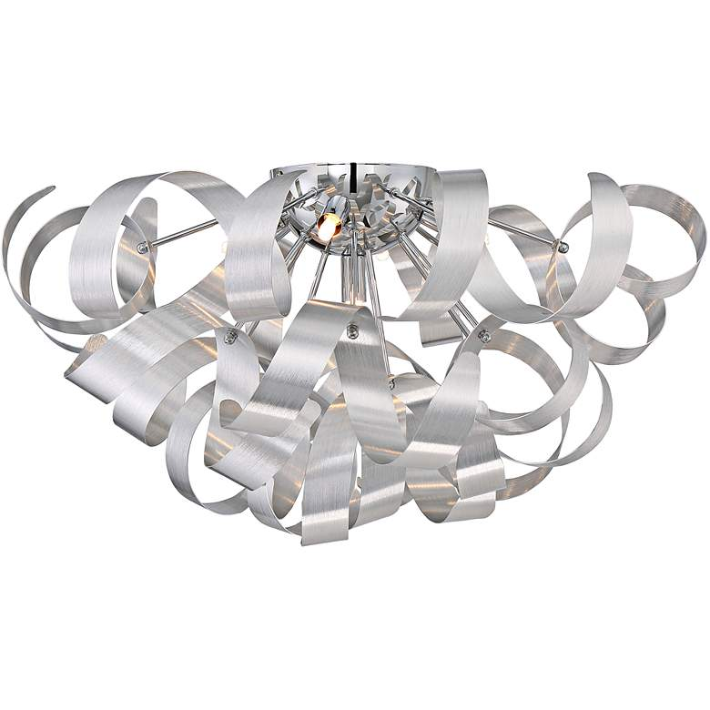 """Quoizel Ribbons 22"""" Wide Millenia Ceiling Light"""