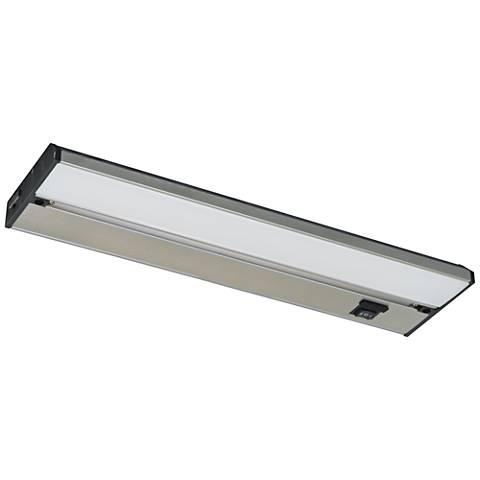 """Noble Pro 40"""" Brushed Aluminum LED Under Cabinet Light"""