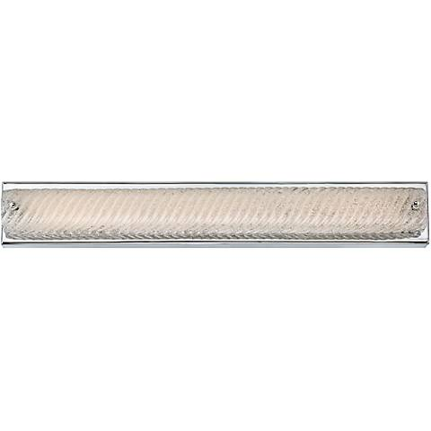 "Platinum Endless 28 3/4"" Wide Chrome LED Bathroom Lighting"