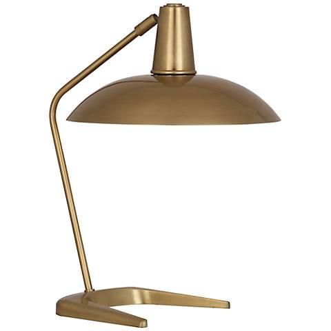 Robert Abbey Enterprise Antique Brass Desk Lamp