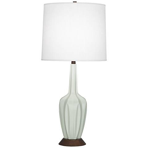 Robert Abbey Cecilia Tall Matte Celadon Table Lamp