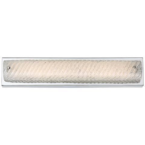 "Platinum Endless 21 1/4"" Wide Chrome LED Bathroom Lighting"