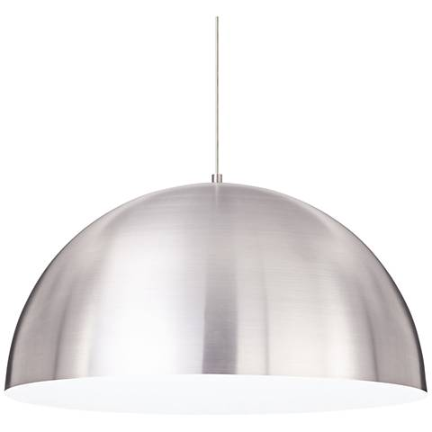 "Tech Lighting Powell Street 24""W Satin Nickel Pendant Light"