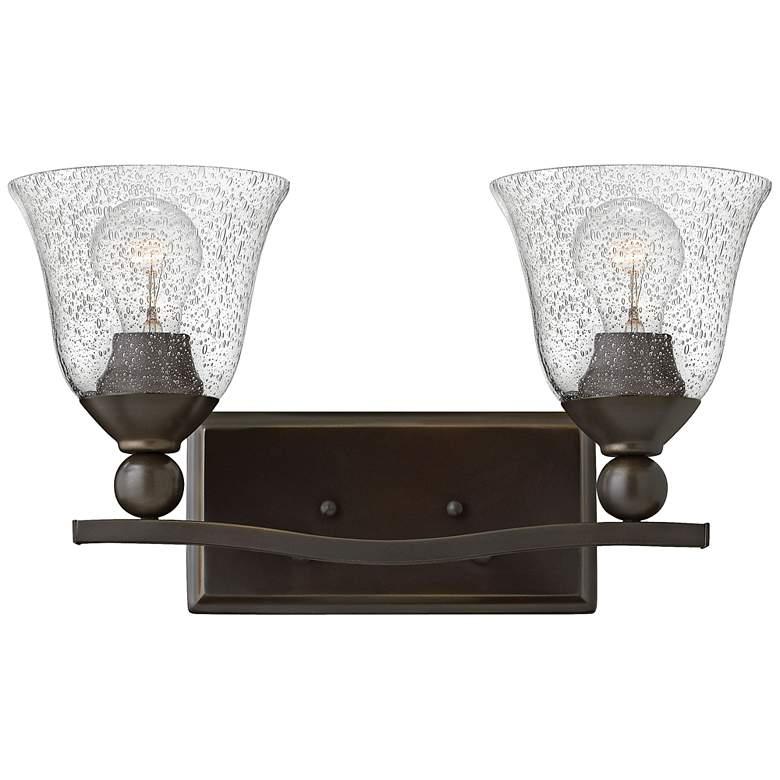 "Hinkley Bolla 16"" Wide Olde Bronze 2-Light Bath Light"