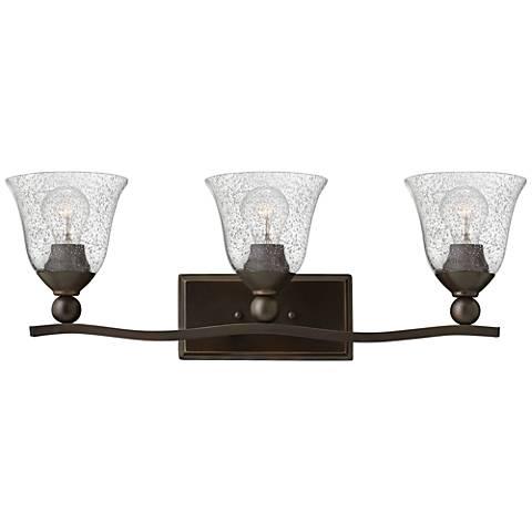 "Hinkley Bolla 26"" Wide Olde Bronze 3-Light Bath Light"