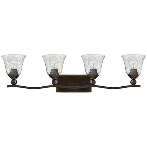 "Bolla 35 3/4"" Wide Olde Bronze 4-Light Bath Light"