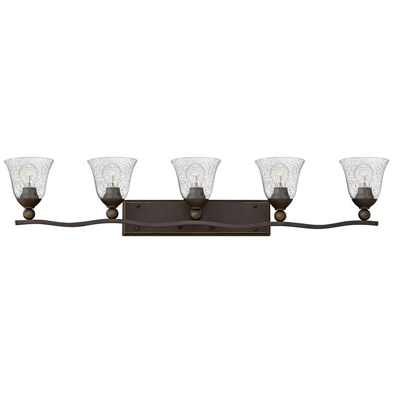"Bolla 45 3/4"" Wide Olde Bronze 5-Light Bath Light"
