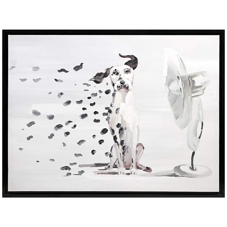 """Pongo Spots 49 3/4"""" High Framed Canvas Wall Art"""