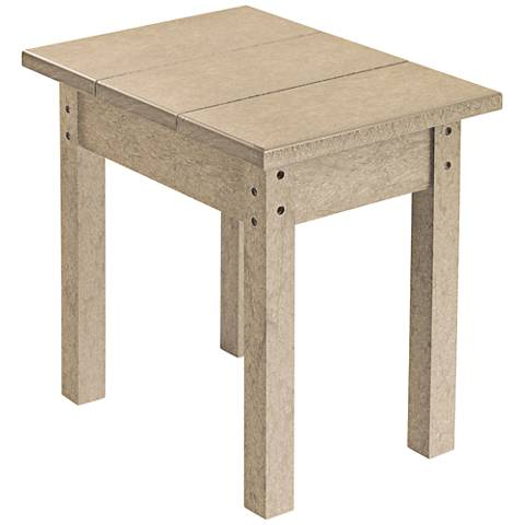 Generations Tan Small Outdoor Side Table