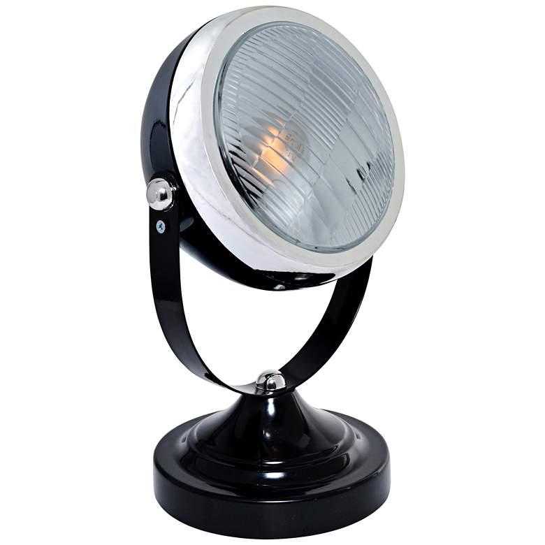Lite Source Headlite Black Metal Spotlight Desk Lamp