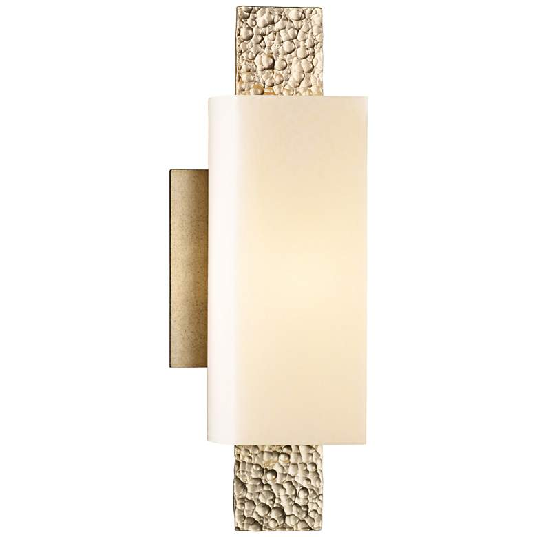 "Hubbardton Forge Oceanus 12 1/2""H Soft Gold Wall"